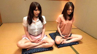 Shy Japanese Babes Fucks And Blows During Yoga